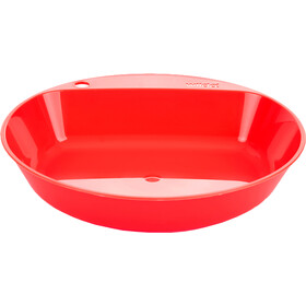 Wildo Camper Plate Deep, red